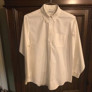 Brooks Brothers Men's Dress Shirt 16 1\2 Cream